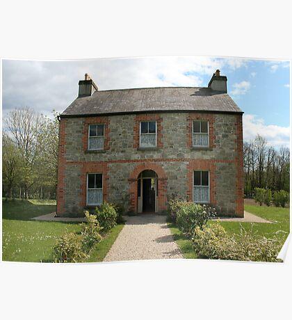 Irish farmhouse Poster