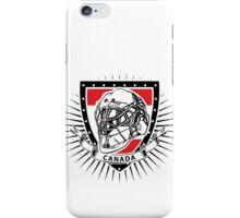 ice hockey helmet shield of canada iPhone Case/Skin