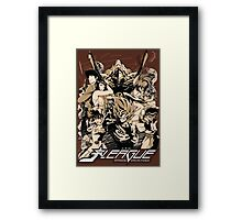 J-LEAGUE | JAPANESE SPECIAL FORCE Framed Print