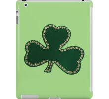 Saint Patrick's Day, Four Leaf Clovers - Green iPad Case/Skin
