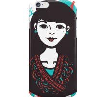 Inky Asian iPhone Case/Skin