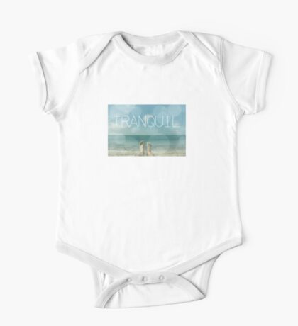 tranquil  One Piece - Short Sleeve