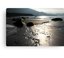 Designs In The Sand Canvas Print