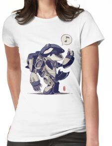 Cyb-Orca Womens Fitted T-Shirt
