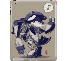 Cyb-Orca iPad Case/Skin
