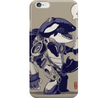 Cyb-Orca iPhone Case/Skin