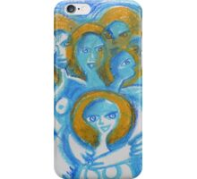 Spiritual beings- caring supportive women together  iPhone Case/Skin