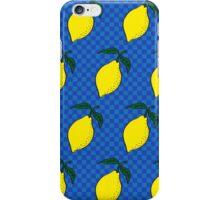 Lemon pop iPhone Case/Skin