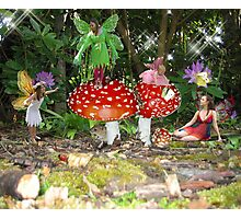 Fairy Dell Family Photographic Print