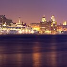 Liverpool Waterfront Panoramic by William Lee