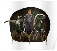 Chris Pratt - Dinosaur Trainer Poster