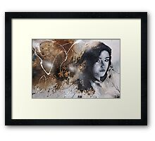 the chemistry between us Framed Print