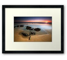 Coffee rocks Framed Print