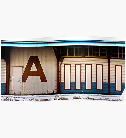 The Letter A Poster