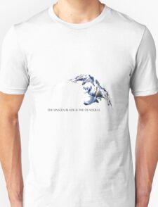 Shockbalde Zed - The unseen blade is the deadliest. Unisex T-Shirt