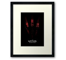 Geralt's Generations - The Witcher 3 Wild Hunt by AronGilli Framed Print