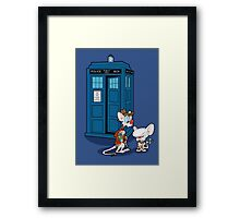 Gee Doctor What Are We Going To Do Tonight? (classic) Framed Print