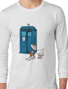 Gee Doctor What Are We Going To Do Tonight? (classic) Long Sleeve T-Shirt