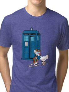 Gee Doctor What Are We Going To Do Tonight? (classic) Tri-blend T-Shirt