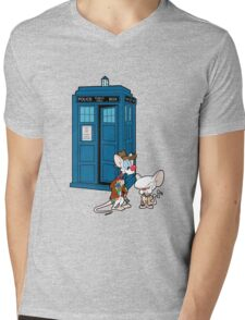 Gee Doctor What Are We Going To Do Tonight? (classic) Mens V-Neck T-Shirt