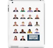 Dunder Mifflin Rolecall! iPad Case/Skin