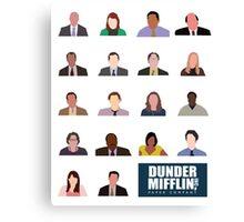 Dunder Mifflin Rolecall! Canvas Print
