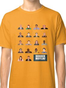 Dunder Mifflin Rolecall! Classic T-Shirt
