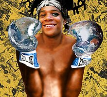 """""""Samoking"""", Basquiat takes on the world by O O"""