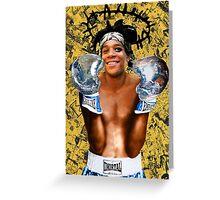 """Samoking"", Basquiat takes on the world Greeting Card"