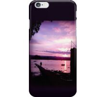 Sunset Sillhouette iPhone Case/Skin