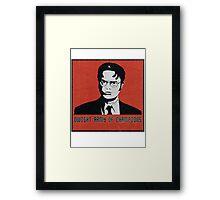 Dwight's Army Framed Print