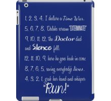 Doctor's Rhymes iPad Case/Skin