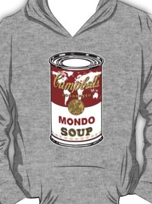 """""""Mondo Red"""" Warhol inspired Campbell's soup.  T-Shirt"""