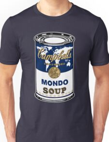 """""""Mondo Blue"""", Warhol inspired Campbell's soup can Unisex T-Shirt"""