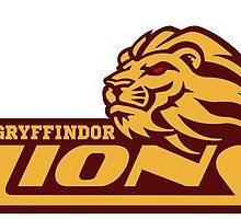 Gryffindor Lions by getonthisgfx