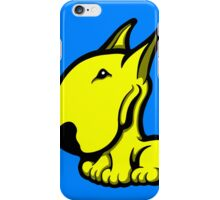 Odie English Bull Terrier Yellow iPhone Case/Skin