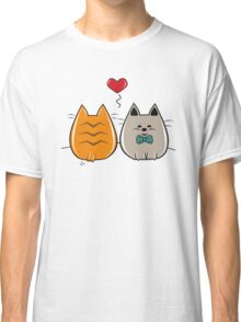 Kitty In Love Classic T-Shirt