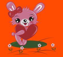 Bunny Love Kids Tee