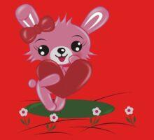 Bunny Love One Piece - Short Sleeve