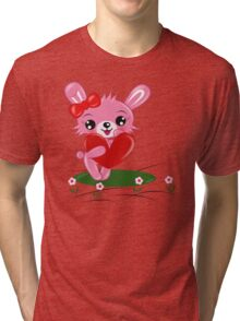 Bunny Love Tri-blend T-Shirt