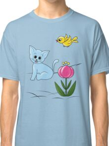 Smiling Cat Classic T-Shirt