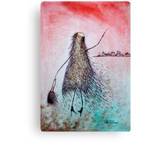 Julia travelling the world Canvas Print