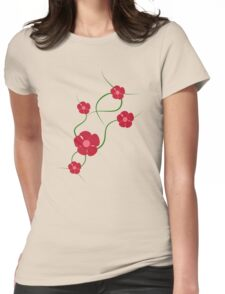 Sweet Wiggle Womens Fitted T-Shirt