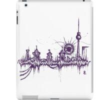 Berlin vibe (purple) iPad Case/Skin