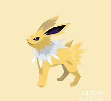 Jolteon Low Poly by meowzilla