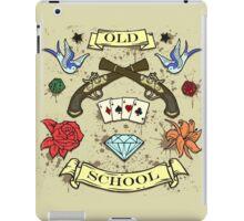 OLD SCHOOL iPad Case/Skin