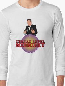 Threat Level Midnight Long Sleeve T-Shirt