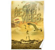 Beach Vibes Poster