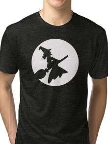 Witch To The Moon Tri-blend T-Shirt
