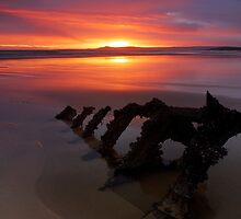 Low tide dawn by Jim Robertson